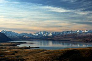 New Zealand Southern Alps Mountain Range