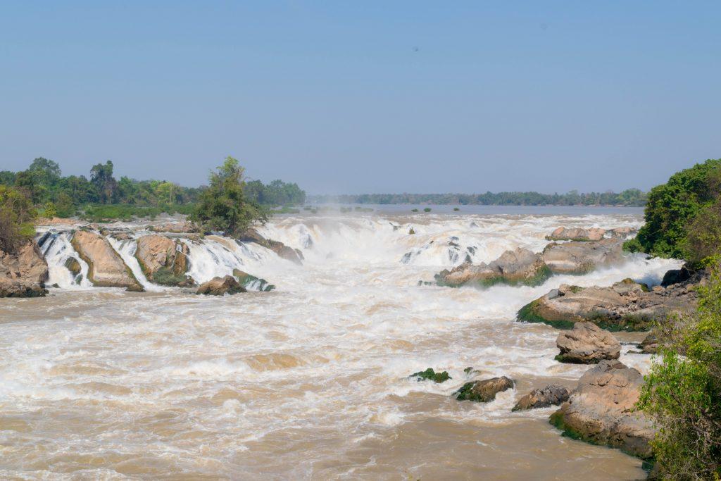 Khone Phapheng Falls in 4000 Islands Champasak