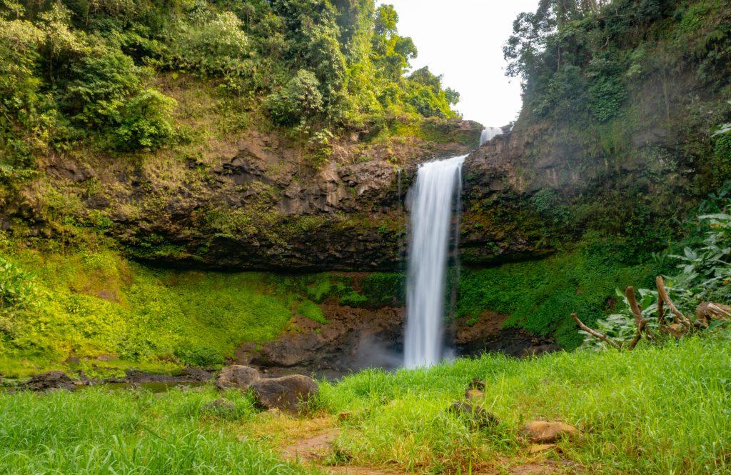 Laos Pakse E-TU Waterfall Long Exposure Shot