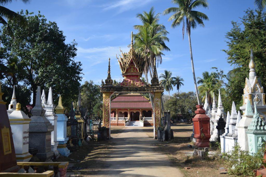Wat Khon Tai in Don Khon 4000 Islands