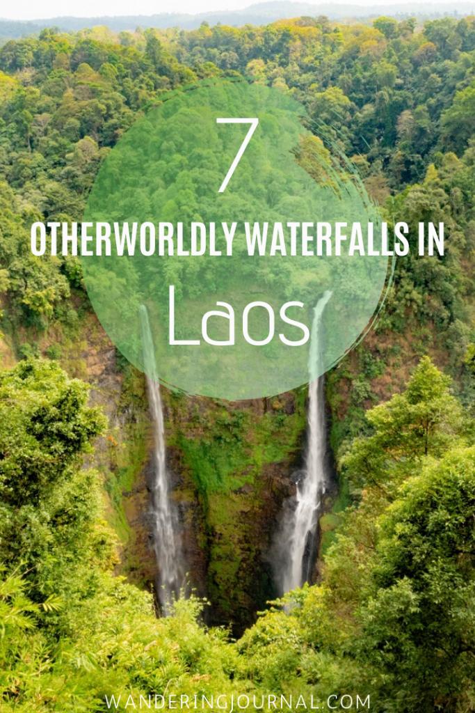 7 Otherworldly Waterfalls in Laos
