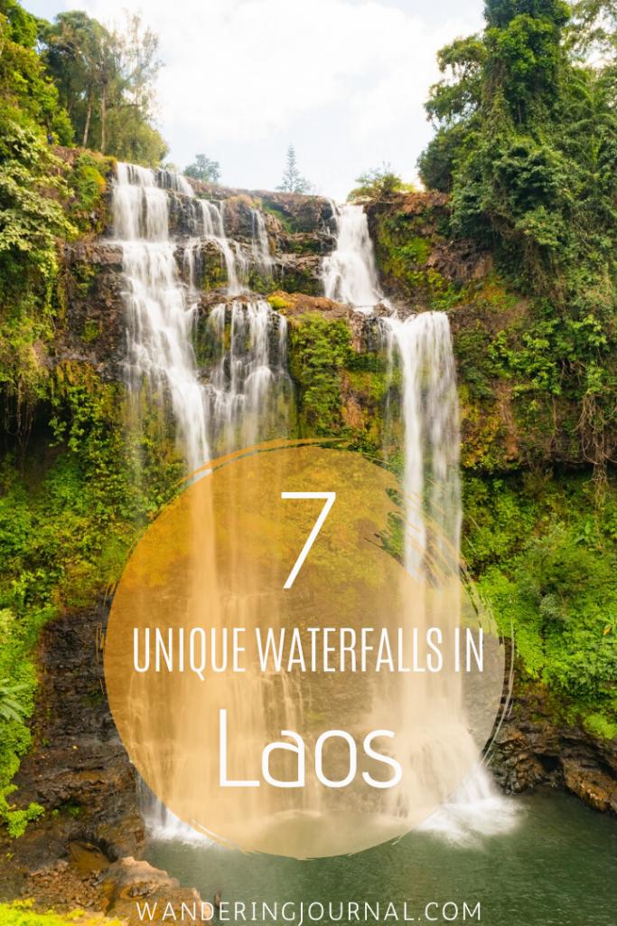 7 Unique Waterfalls in Laos