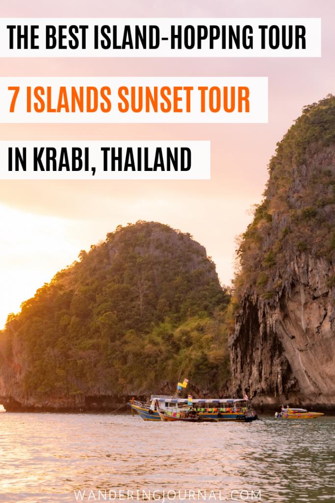 7 Islands Hopping Tour Krabi Thailand