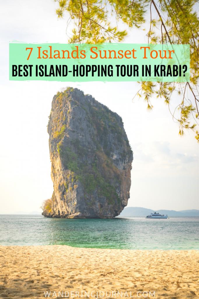 7 Islands Sunset Tour - Best Island Hopping Tour in Krabi Thailand