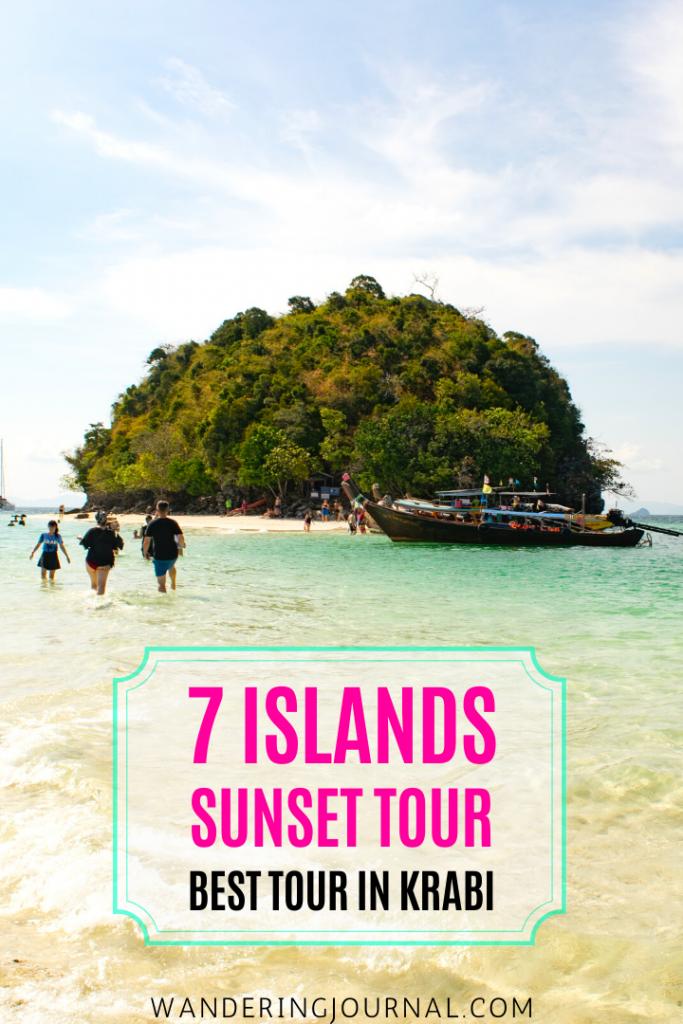 7 Islands Sunset Tour Krabi