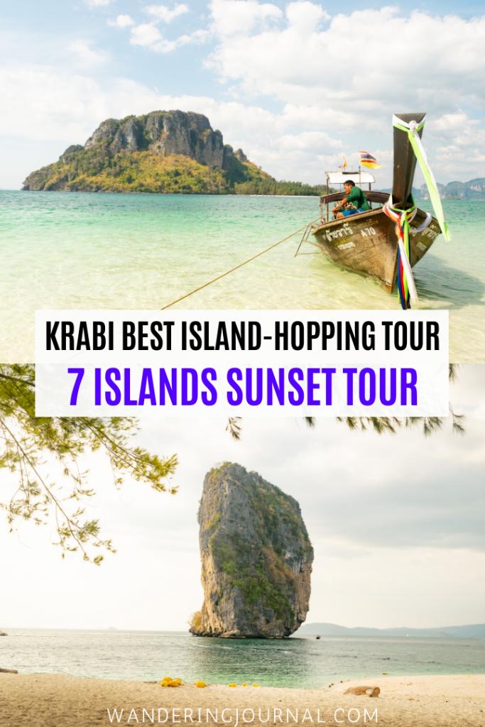 7 Islands Sunset Tour in Krabi Thailand