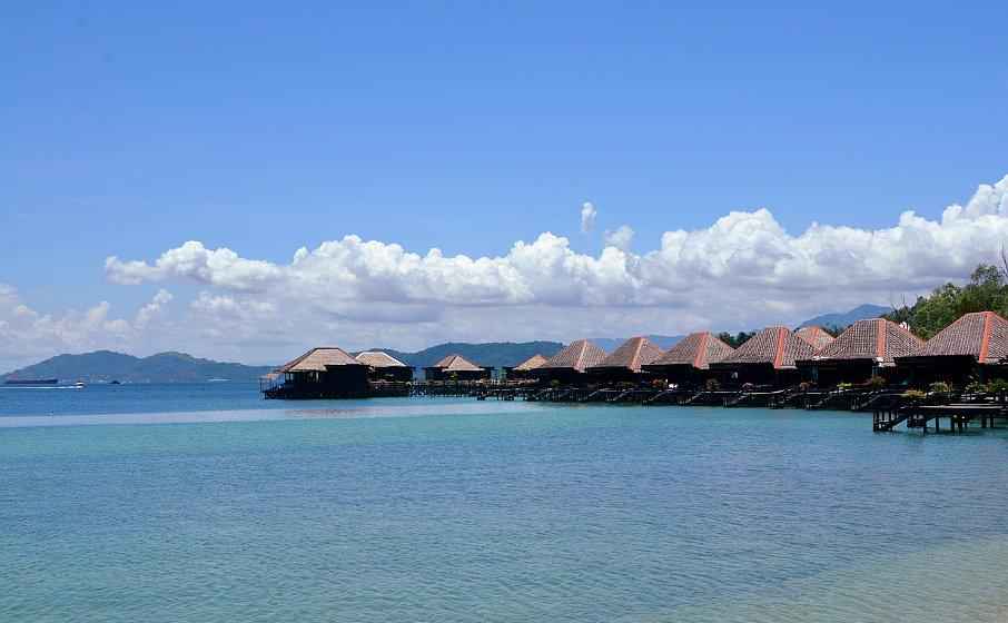 Gaya Island Beach in Kota Kinabalu Sabah