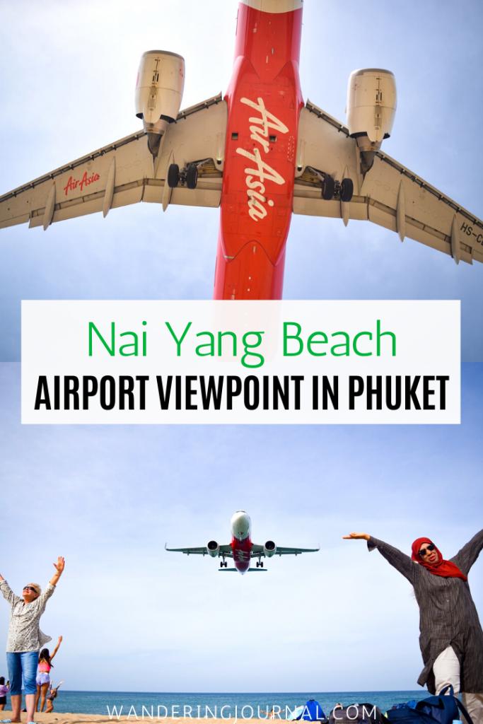 Nai Yang Beach Airport Viewpoint in Phuket